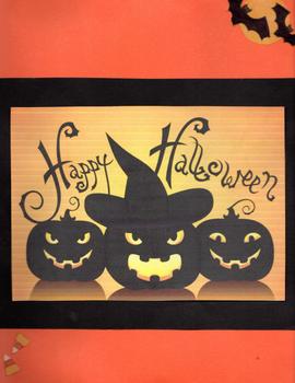 Halloween Lap Book