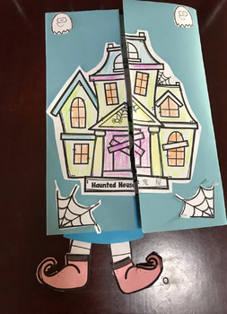 Halloween Lapbook-learning Chinese