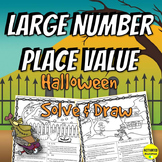 Halloween Large Number Place Value