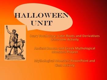 Halloween Latin Unit