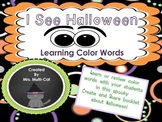 Halloween Learn and Color