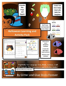 Halloween Learning and Activity Pack