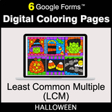 Halloween: Least Common Multiple (LCM) - Google Forms | Di