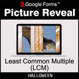 Halloween: Least Common Multiple (LCM) - Google Forms Math