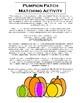 Halloween Lesson Plan - Subtraction, Review 1st qtr 4th gr concepts, Mummy Wrap