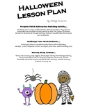 Halloween Lesson Plan - Subtraction, Review 1st qtr 4th gr