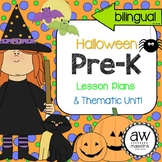 Halloween Lesson Plans & Thematic Unit Pre-K, English Spanish Bilingual