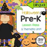 Halloween Lesson Plans & Thematic Unit Pre-K, English Span