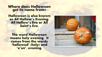 Halloween Lesson/ Presentation/ Assembly/ Quiz Pack 2017/ Powerpoint