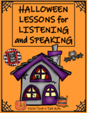 Halloween Lessons for Listening and Speaking