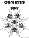 Halloween Letter Bump Literacy Center - Black and White!