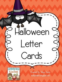 Halloween Letter Cards