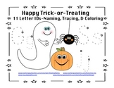 Halloween Letter Costumes Happy Trick or Treating