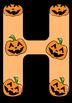 Halloween Letter Font