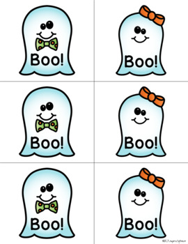 Halloween Letter Game (Recognition and Sounds)