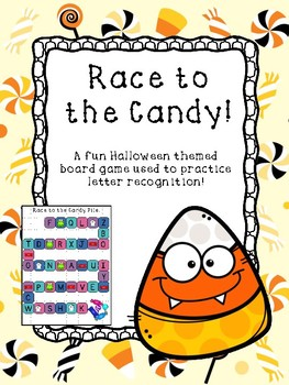 Halloween Letter Recognition Games Bundle