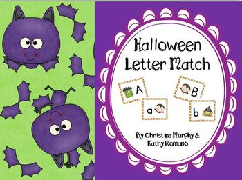 Halloween Letter Match Center