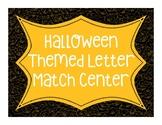 Halloween Letter Match Center