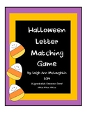 Halloween Letter Match / Common Core!