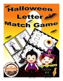 Halloween Letter Match Game