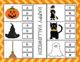 Halloween Letter Match Up