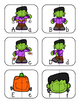 Halloween Letter Matching Puzzles