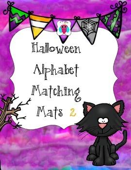 Halloween Letter & Number Mats Set Two