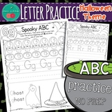 Halloween Letter Practice