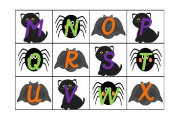 Halloween Letter Recognition Activities