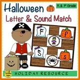 Halloween Letter & Sound Match Game