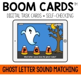 Halloween Letter Sound Matching BOOM CARDS™
