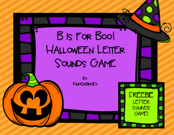Halloween Letter Sounds Game