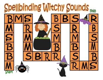 Halloween Letter and Letter Sound Recognition Game
