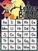 Halloween Letter and Number Bingo