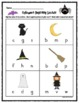 Halloween Letters & Sounds Worksheets - (Beginning Sounds,