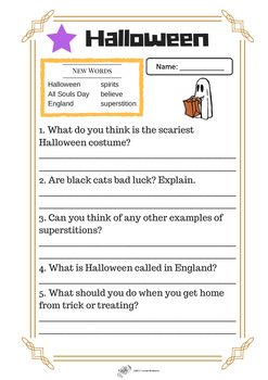 Halloween Leveled Reading