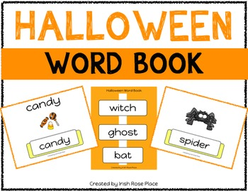 Halloween Leveled Word Books (Adapted Books)