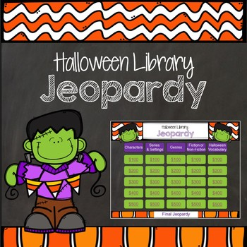 Halloween Library Jeopardy