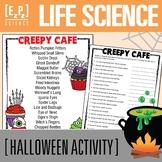 Halloween Life Science Classification- Creepy Cafe