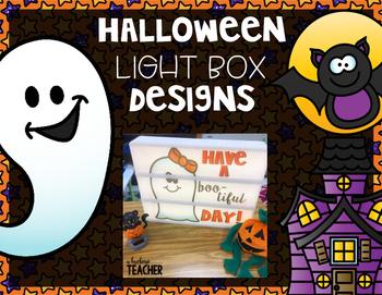 Halloween Light Box Slides