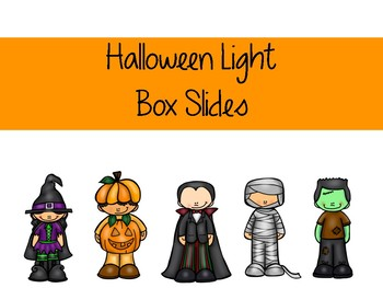 Halloween Light Box Slides
