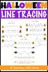 Halloween Line Tracing Worksheets
