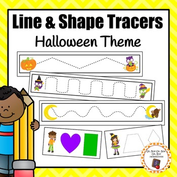 Halloween Line and Shape Tracers