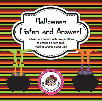 Halloween Listen and Answer