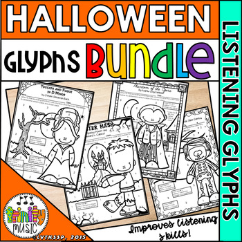Halloween Listening Glyphs BUNDLE