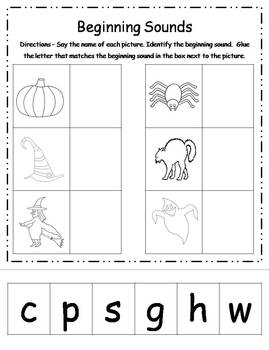 Halloween Literacy Activities FREEBIE - CCSS aligned