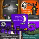 Halloween Literacy Activity Bundle