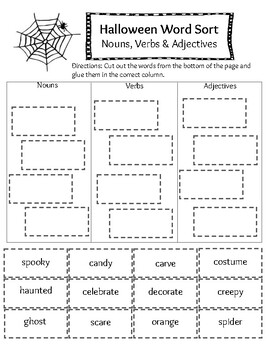 Halloween Literacy Activity Packet- No Prep!