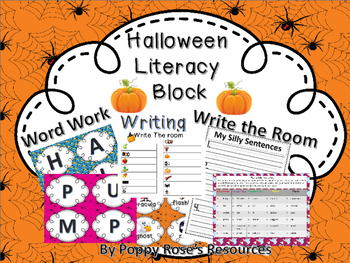 Halloween Literacy Block (Daily 5)