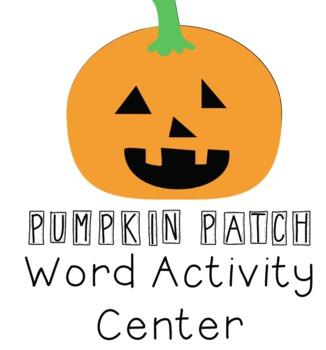 Halloween Literacy Center